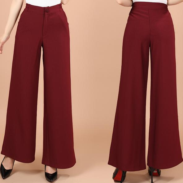 new femal loose   pants   fashion straight casual   pants     wide     leg     pants   women long trousers