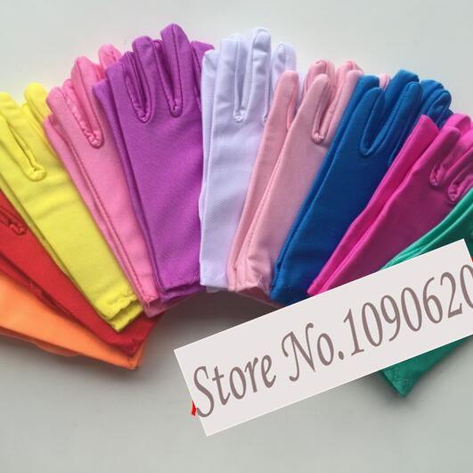 DKBLINGS 10pairs White Glove Performance Glove For Student White Dance Children Team Dancing Glove
