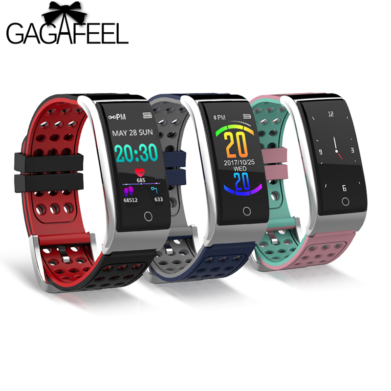 все цены на Gagafeel E08 ECG PPG Smart Bracelet Fitness Tracker IP67 Waterproof Smart Watch Blood Pressure Blood Oxygen Monitor Wristband онлайн