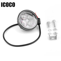 ICOCO Auto Car Truck SUV Work Light Alloy New Super Bright Waterproof IP67 12W LED Low
