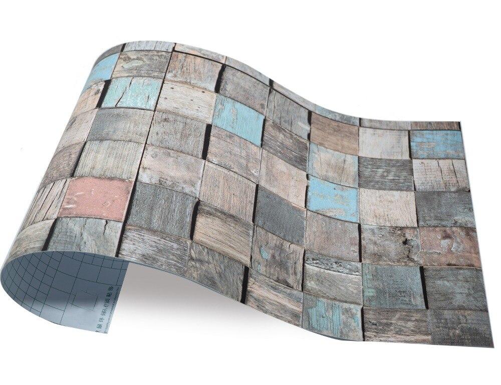 3d legno depoca vinile pavimenti in piastrelle muro di piastrelle