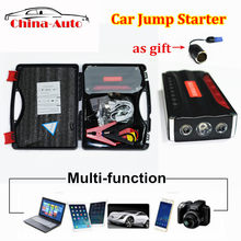 High Capacity Car Jump Starter Car Portable Emergency Battery Charger for Petrol & Diesel Car Power Bank 12V(China)
