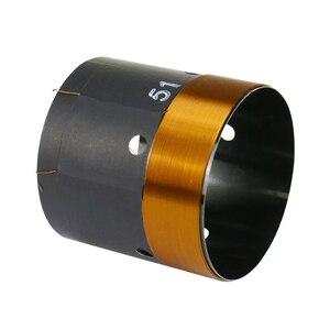 Image 3 - GHXAMP 51mm Bas Ses Bobini Woofer 8ohm Onarım Parçaları Havalandırma deliği Ile 2 katmanlı Yuvarlak Bakır Tel 200  280W 1 adet