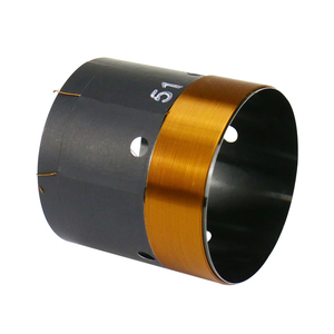 Image 3 - GHXAMP 51mm Bass Voice Coil Woofer 8ohm Repair Parts With Vent hole 2 layer Round Copper Wire 200 280W 1pc