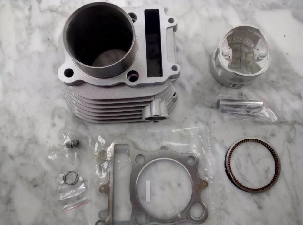 Aprendido Kits De Cilindro De Motocicleta Jianshe Js250 Xv250 Atv250 Atv 71 Mm Con Pistón Y Pin De 16 Mm 100% Original