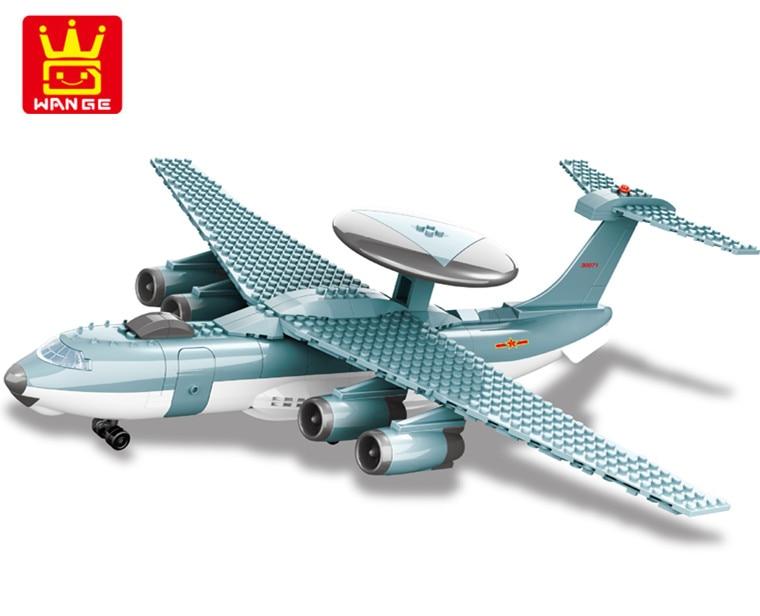 Wange KJ2000 model building kits city plane 1051 3D blocks Educational model & building toys hobbies toys for children new phoenix 11207 b777 300er pk gii 1 400 skyteam aviation indonesia commercial jetliners plane model hobby
