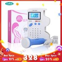 Cofoe Fetal Doppler Pregnancy Baby Doppler Baby Heartbeat Monitor Household Ultrasound Doppler Fetal Detection 12 Weeks