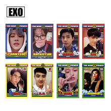2019 New SGDOLL KPOP EXO The Power of Music Self-Made Cards KAI CHEN Photocard Chanyeol DO LOMO Cards (8pcs a set)(China)