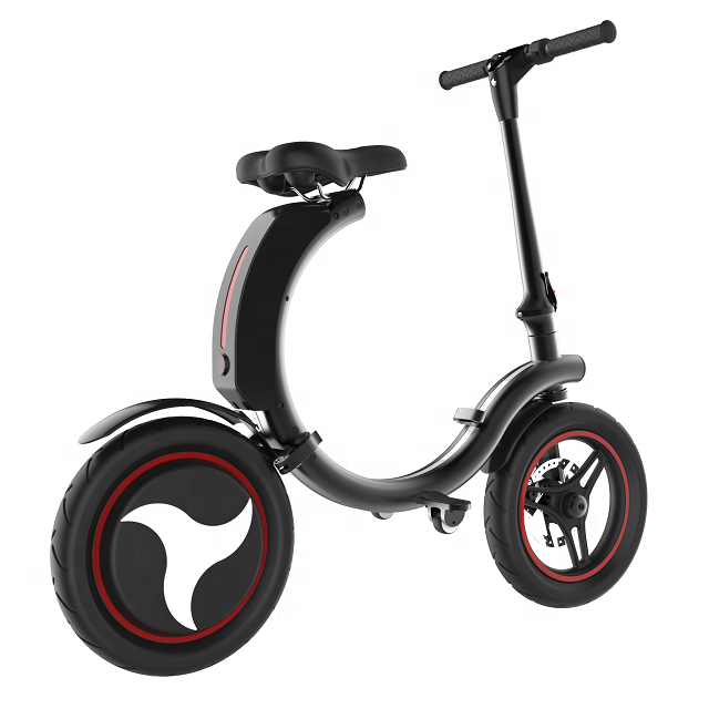 Foldable Electric Scooter Easy Carry Two Wheel Scooter Portable Bicycle 500W 36V 14inch Bike Electrombile Quickly folded