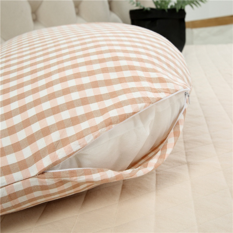 Semicircle H Shape Pregnant Women Pillow Multi-function Belly Support Side Sleeper Pillow Fixed Sleeping Position Pillow