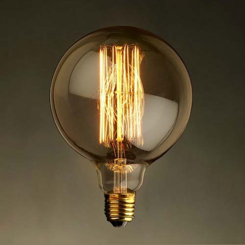 G95 40W 220V Edison Light Bulb E27 Incandescent Bulbs Retro Vintage  Filament Bulb Antique Edison Tungsten Lamp Home Decor Bulbs In Incandescent  Bulbs From ...