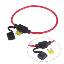 лучшая цена 5pcs 12V 20A Car Fuses Car In Line Mini Blade Fuses Automotive Fuse Holder Splash-proof Fuses Add A Dual Circuit Adapter Holder
