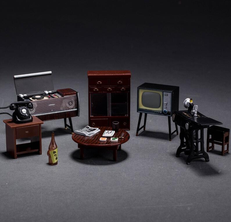 Odoria 1:24 Japanese Vintage Furniture Dollhouse Miniature Accessories