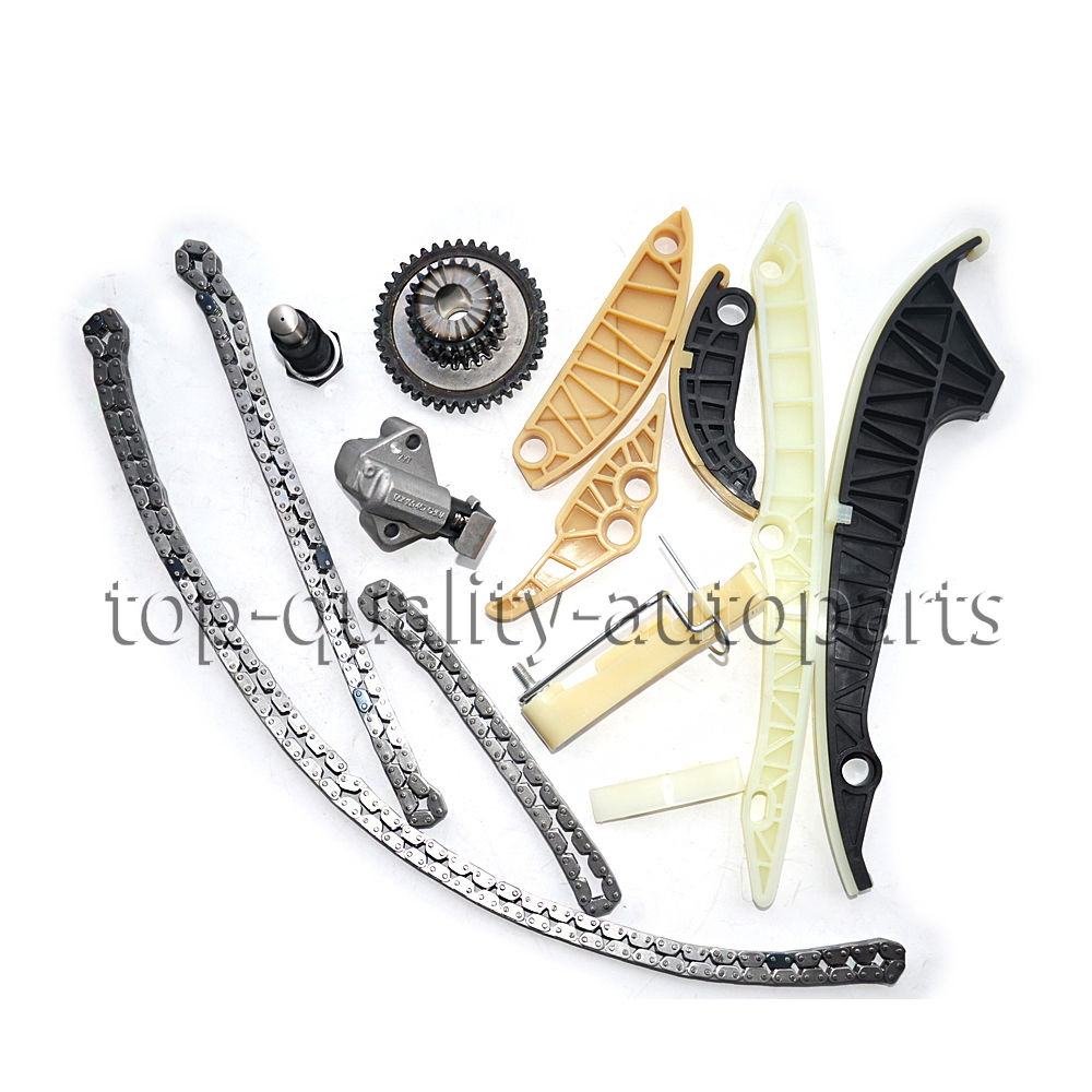 New 13Pcs Timing Chain Kit For VW GOFT GTI PASSAT Audi A3 A4 A5 A6 Q5 2.0TSI 1.8TSI Tiguan Jetta Passat Beetle 2008-2013 MK2 new timing chain kit 13 pcs for audi a3 a4 a5 a6 q5 tt allroad vw beetle eos gti jetta passat b6 tiguan cc 06k109158a 06k109467k