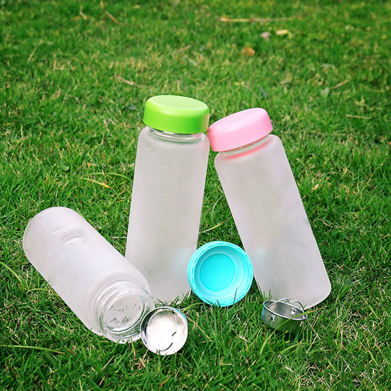 6 Color 500Ml Fashion Outdoor Sport Lemon Juice Readily Space Drinking Water Bottles Portable Plastic Creative Juice Bottle|Water Bottles|   - AliExpress