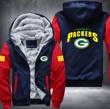 Green Bay Packers Zipper Hoodie Sweatshirt – Unisex