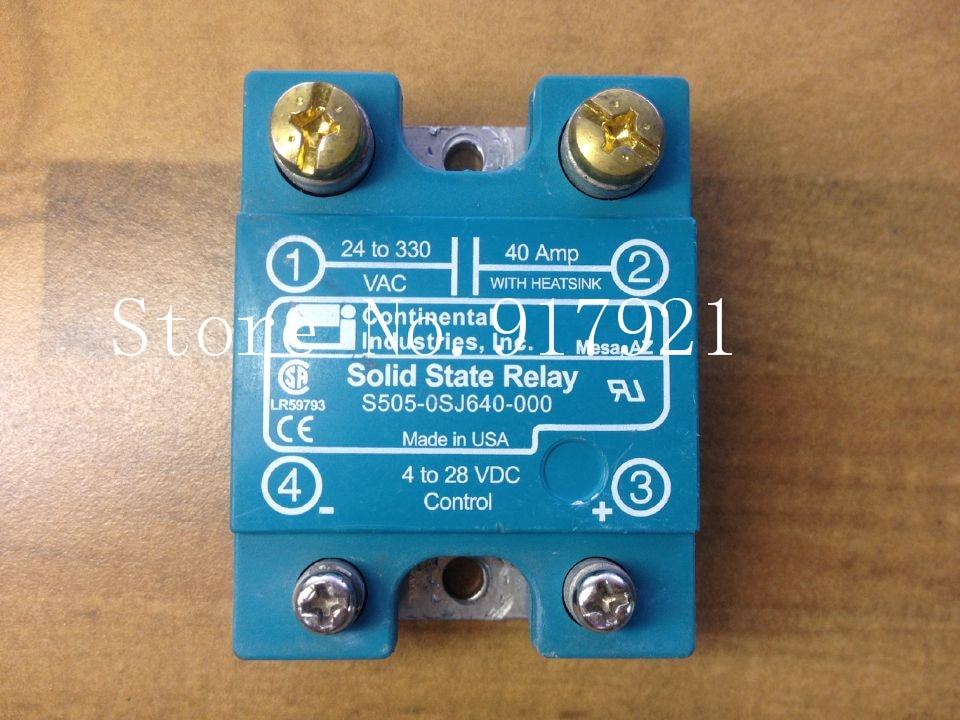 все цены на [ZOB] The original Continental S505-0SJ640-000 import 40A solid state relay  --2pcs/lot онлайн
