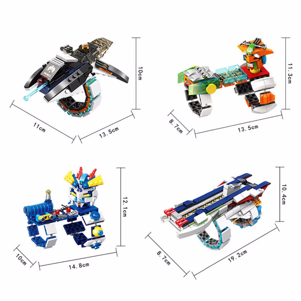 Cool Hand Missile Launcher Building Blocks Set,Building Bricks Toys for Children,Fun Toys Warsring Battle Game Toys for Children