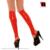 Látex Sexy knee high meias Panturrilha meias abertos com pés De Borracha Vermelha desgaste corte pé pés de borracha da mangueira meias