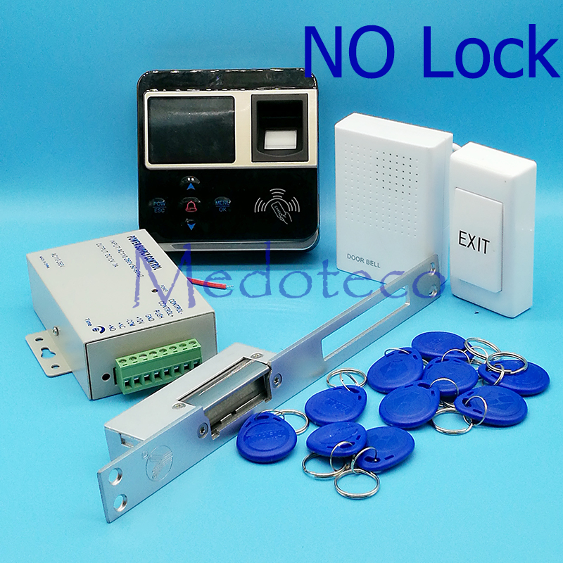 Full Kit Fingerprint & Rfid Card Access Control Fingerprint Door Access Control System Door Controller Long type Door Lock