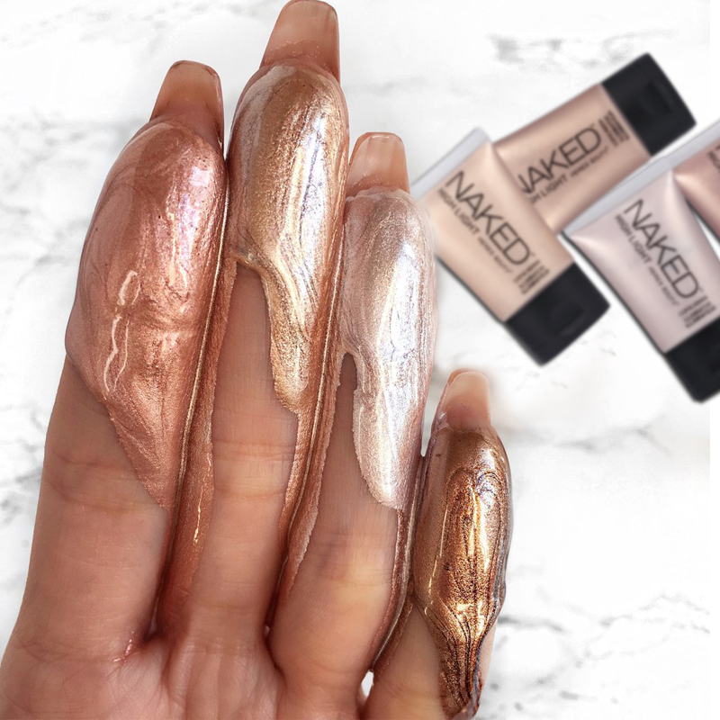 HERES B2UTY Face Glow Liquid Highlighter Base Primer Bronzer Shimmer Highlighter Contour Face Cream Highlighter Makeup 30ml in Bronzers Highlighters from Beauty Health