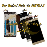 New For Xiaomi Redmi Note 4X MBT6A5 Full LCD DIsplay Touch Screen Digitizer Assembly Frame Cover