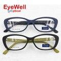 Gato acetato frame ótico para as mulheres 2016 novo estilo de moda bonita das senhoras óculos 7037