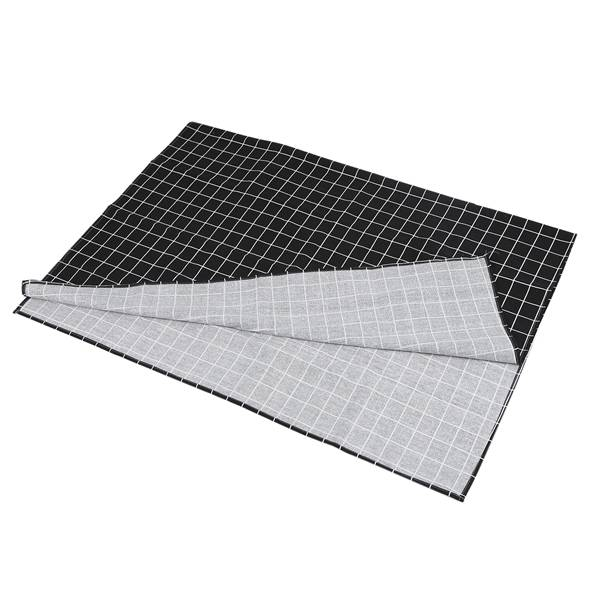 Image 2 - Hot Black Plaid Table Cloth Home Coffee Table Decorative Brief Tablecloth For Home Restaurant Shop Decoration-in Tablecloths from Home & Garden