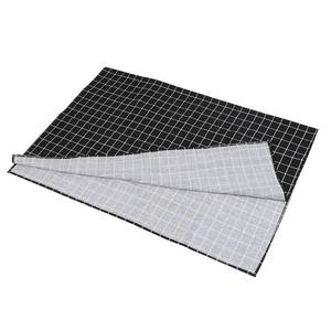 Image 2 - Hot Black Plaid Table Cloth Home Coffee Table Decorative Brief Tablecloth For Home Restaurant Shop Decoration