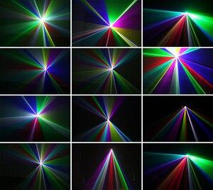 Image 5 - Alienígena remoto rgb 400mw dmx512 linha laser scanner efeito de iluminação palco luz do projetor dj dança bar festa natal discoteca mostrar luzes