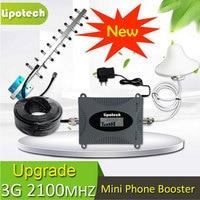 1 Takım Yeni Tekrarlayıcı 3G 2100 MHz LCD Ekran Repetidor 3G Sinyal amplifikatör 70dB Kazanç AGC UMTS 2100 Sinyal Booster 3G 4G Anten