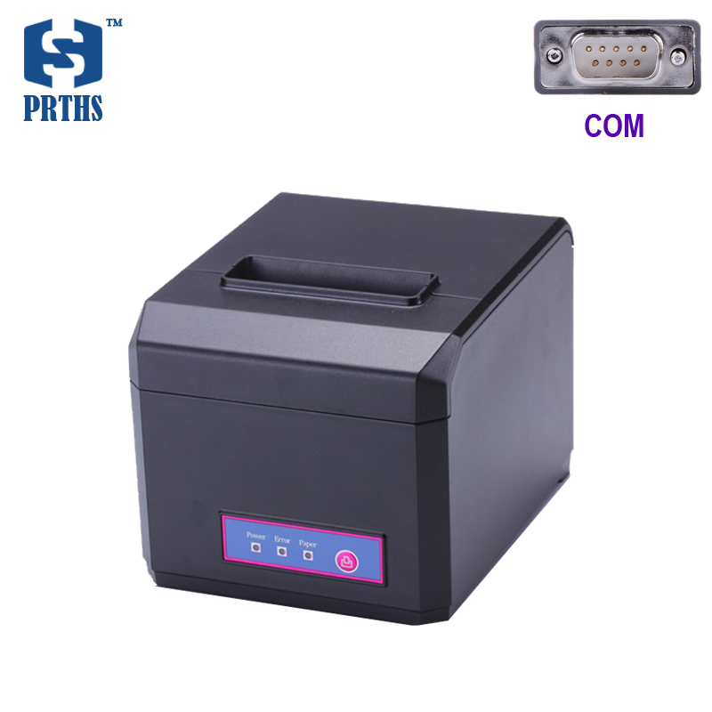 80mm thermal printer with auto cutter com interface impresora termica bill receipt printer for POS system fast printing HS-E81S