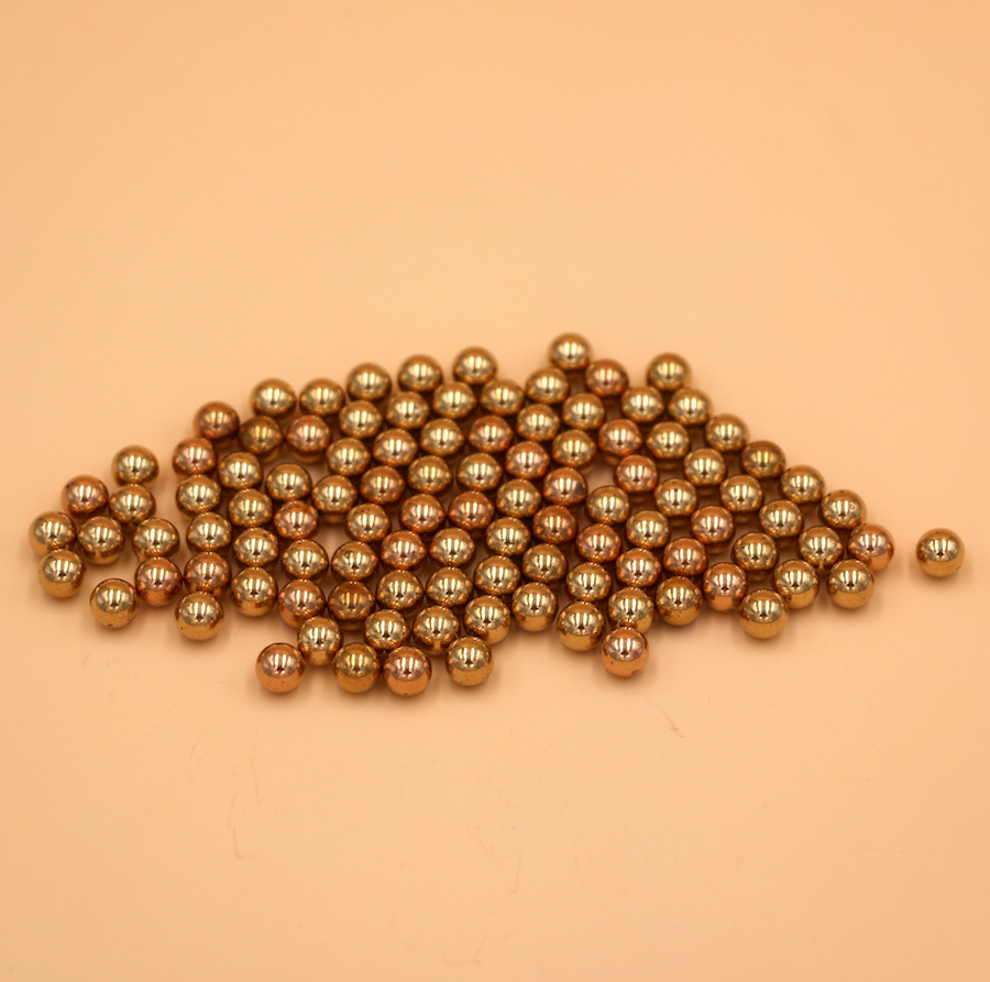 2.5mm 500pcs Solid Brass Bearing Balls