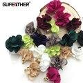 GUFEATHER L21/2,8 CM/accesorios de la joyería/Flores colgante borlas/pendientes accesorios 10 unids/bolsa