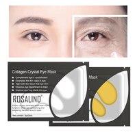 ROSALIND Gold Collagen Eye Mask 5/10pairs Gel Eye Patches for Eye Anti Wrinkle Dark Circles Eye Serum Dark Circle Remover MasK