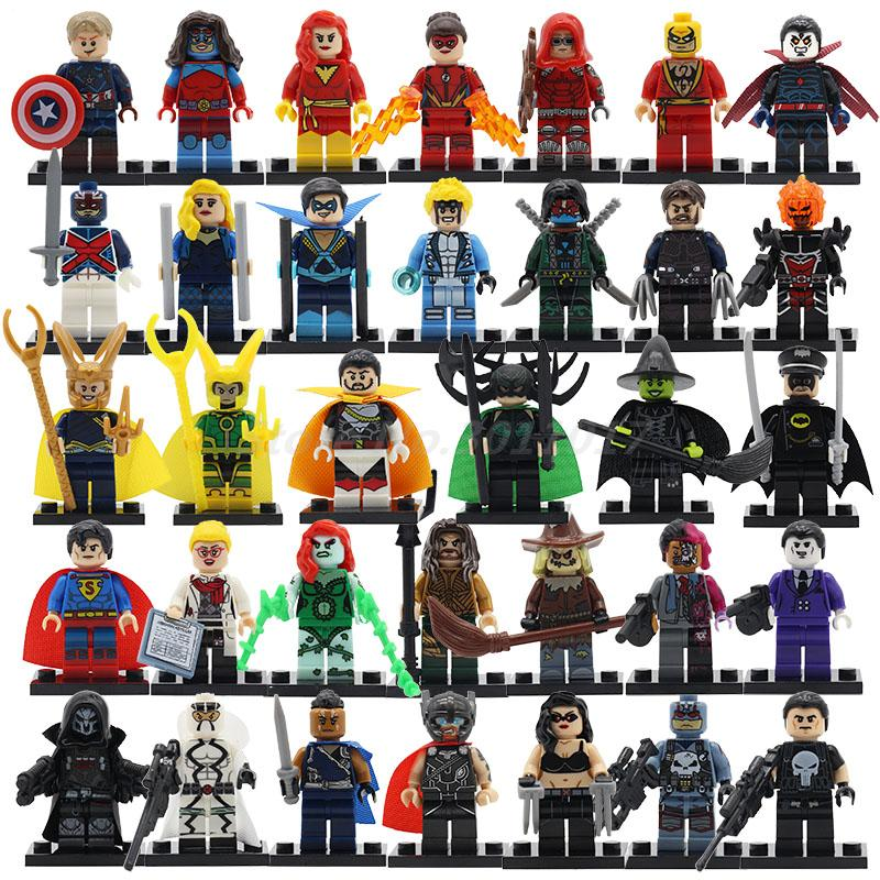 Marvel Avengers Super Heroes Figures Batman Iron Man Black Widow Hulk Joker Lepin Building Blocks Model Sets Toys for Children hulk xh002 super hero single sale bruce banner red she hulk marvel s the avengers building blocks sets model figure toys