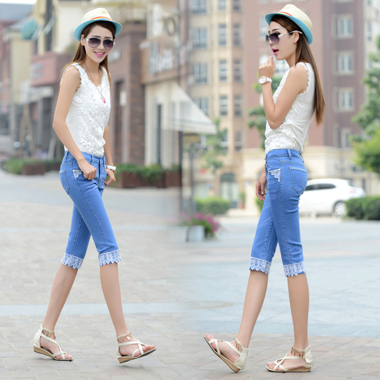 Aliexpress.com : Buy 2015 summer casual style jeans thin section ...