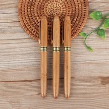 Stylo à plume de calligraphie en bambou, outil d'écriture à pointe ciselée, 0.7mm – 2.9mm