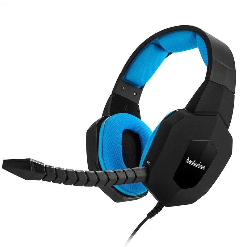 Auricolare Gaming Headset Cuffia Gamer PC Stereo per il telefono del  computer tablet Cuffie PS4 Xbox 676a4716909a
