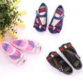 Mini melissa arco jalea sandalias de 2017 nuevas sandalias de los niños zapatos de la jalea zapatos de niñas sandalias de playa zapatos de la princesa del diseño de moda