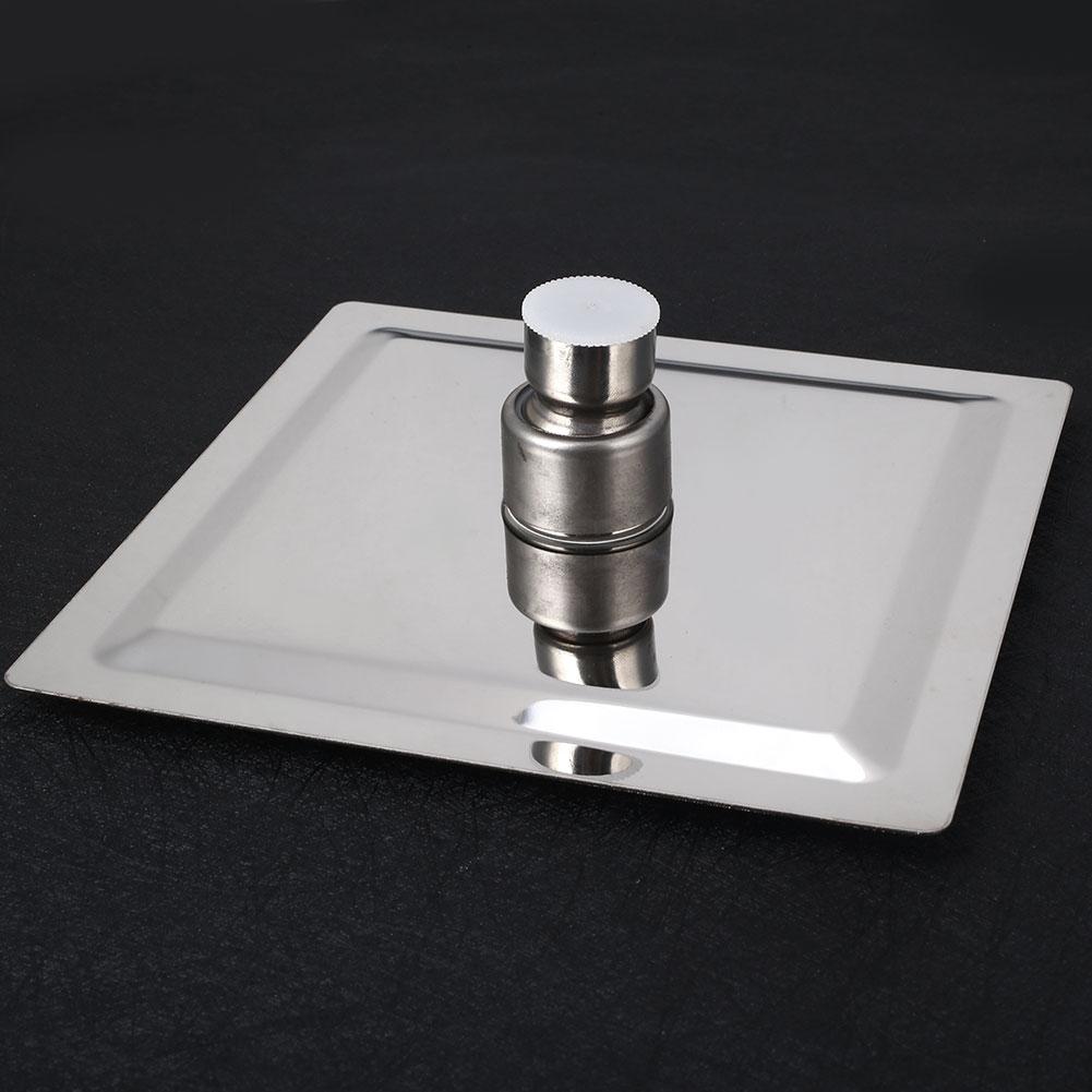 Тонкая верхняя душевая головка для ванной пульверизатор с вентилем дождевой Душ высокого давления для ванной удобный серебристый прочный
