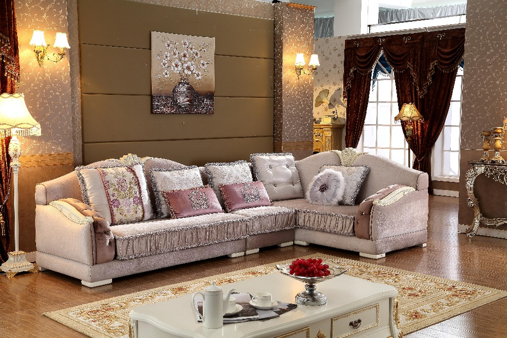 Beanbag Armchair Sectional Sofa New Arriveliving European Style Set Fabric  Hot Sale Low Price Factory Direct