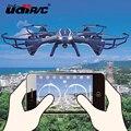 2016 Nova RC Quadcopter U818S RC Drone Wifi Real-tempo de transmissão Aérea Câmera 720HD Photogeaph 6-Axis Giroscópio RC Helicóptero