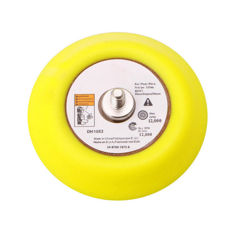 Confident 1pc Polishing Self-adhesive Disc Polishing Sandpaper Sheet Adhesive Disc Chuck Angle Grinder Sticky Plate For Car 80-180mm Tools