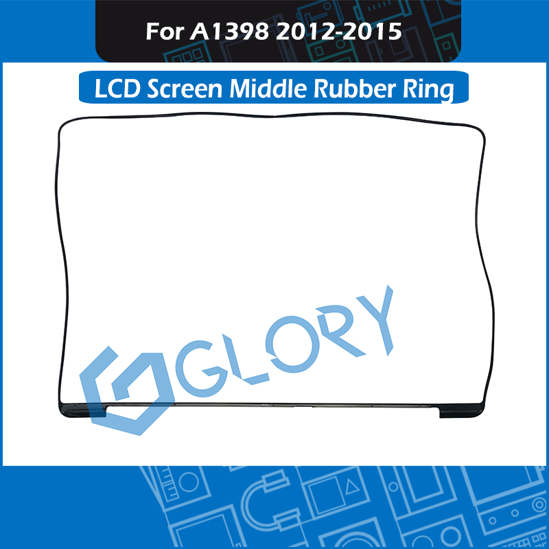 50pcs/Lot A1398 LCD Screen Middle Frame Rubber Bezel Ring For MacBook Pro Retina 15 Display Mid Rubber 2012 20213 2014 2015 image