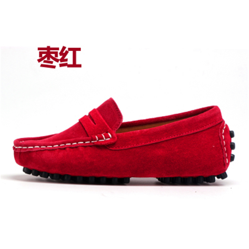 Image 2 - Size 27 39 Really skin Children Boys Girl Baby Shoes Slip on Loafers Flats Spring And Autumn Fashion Boys Sneakers for Big KidsSneakers   -