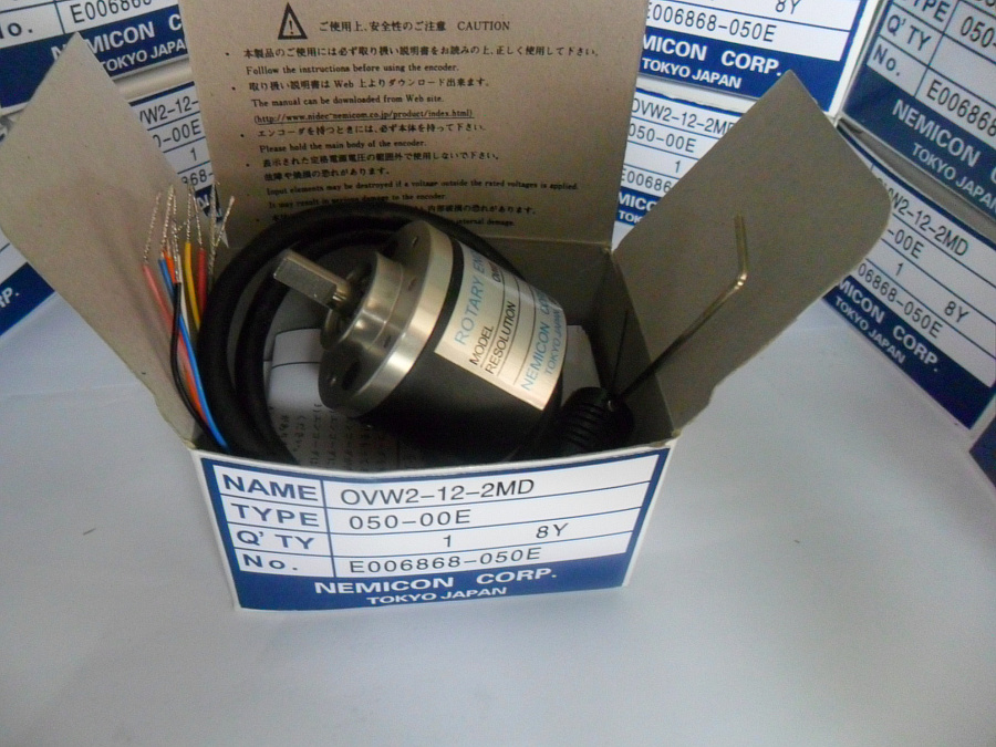 FREE SHIPPING Ovw2-02-2hc Solid Shaft Encoder Optical Encoder Pulse