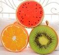 Nueva llegada de gran tamaño 40 cm juguetes de peluche de la fruta 3D cojines de peluche almohada regalos para los niños y niñas