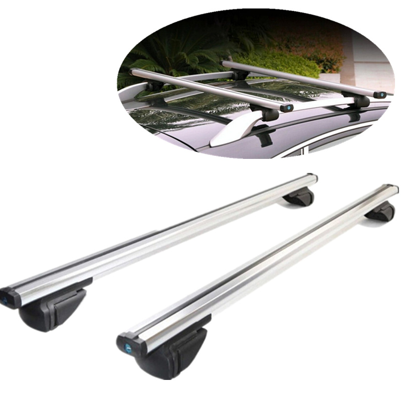 Universal Car Roof Rack Load Over 100kg Travel Rack Cargo Box Luggage Suitcase SUV CrossbarRoof Racks Boxes