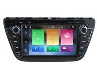 HD 8Inch 2Din Octa Core Android6 0 Car DVD GPS Navigation Automotivo For Suzuki SX4 S